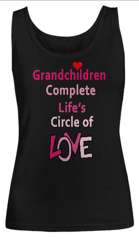 Circle of Love- Women Tank Tops