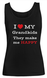 Women Tank Top-I Love My Grandkids