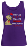 I Rescue1 Dogs-Women Tank Top
