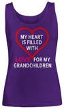 Fill With Love- Women Tank Tops
