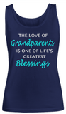 The Love of Grandparents-Women Tank Top