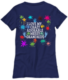 Adorable,Crazy,Messy-WomenT-Shirts