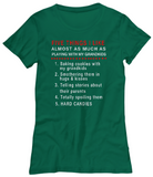 Grandkids 5 Things-Women T-Shirts