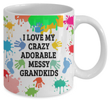 Adorable,Crazy,Messy Mug