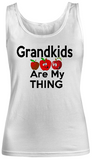 Grandkids are my thing-Apples- Women Tank Tops