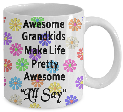 Awesome Grandkids Mug