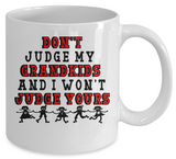 Don't Judge  Mug