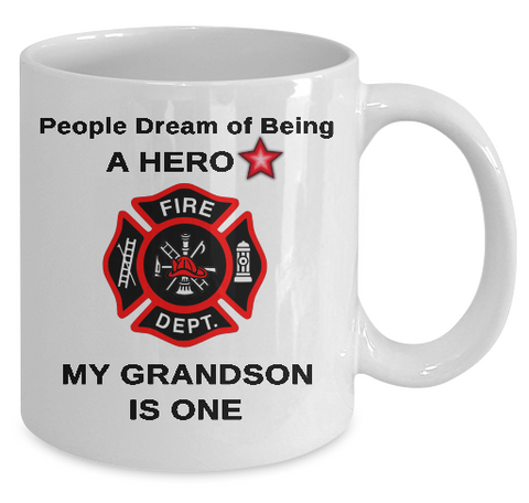 Hero Firefighter Mug