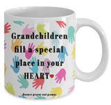 Grandchildren Fill A Special Place Mug