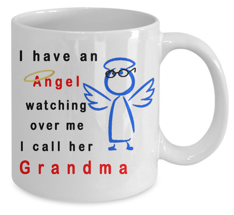 Angel Watching Over Me Mug
