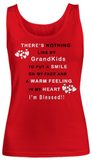 Women Tank Top-I'm blessed