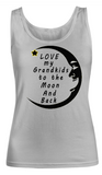 Love my Grandkids to the Moon and Back-Women Tank Top