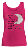 Love My Grandson to the Moon and Back-Women Tank Top