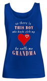 So there is THIS BOY-Women Tank Top