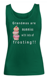 Women Tank Top-Grandmas are Mommies