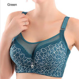Brassiere-Women Big Size Lace Underwear Push Up Bras