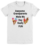 Awesome Grandparents-Youth T-Shirts