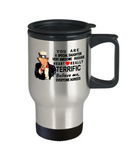 Donald Trump coffee travel mug funny,Perfect Christmas birthday gifts Donald trump,very awesome daughter travel mug trump