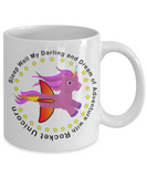 Be a Unicorn - a flying rainbow unicorn