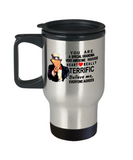 Funny Donald Trump Mothers Day travel Mug,You are a special grandma Trump,Worlds Greatest grandma travel mug trump