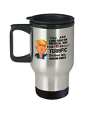 Funny Donald Trump Fathers Day travel Mug,You are a Great Great son Trump,Worlds Greatest son travel mug