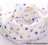 Scarves-Baby,Kids,Child O Ring Collar Neck Cotton Scarf 40*20cm