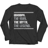 Limited Edition - Grandpa. The Man. The Myth. The Legend.