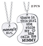Special OFFER Pendant-Necklace-There Is A Girl She Stole My Heart Silver Necklace