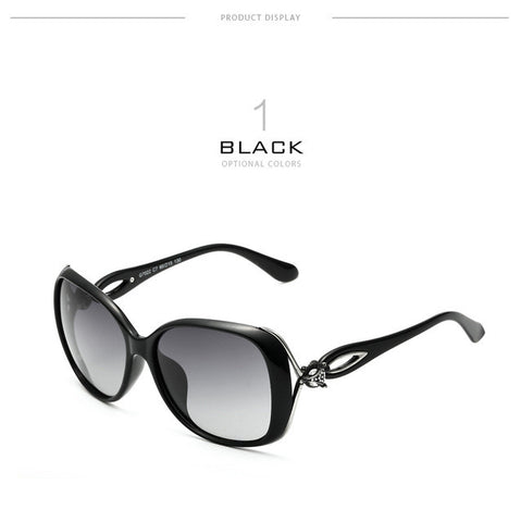Retro Polarized Luxury Ladies  Sunglasses