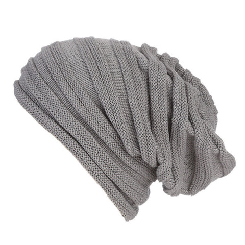 Women Oversized Baggy Thick Winter Beanie