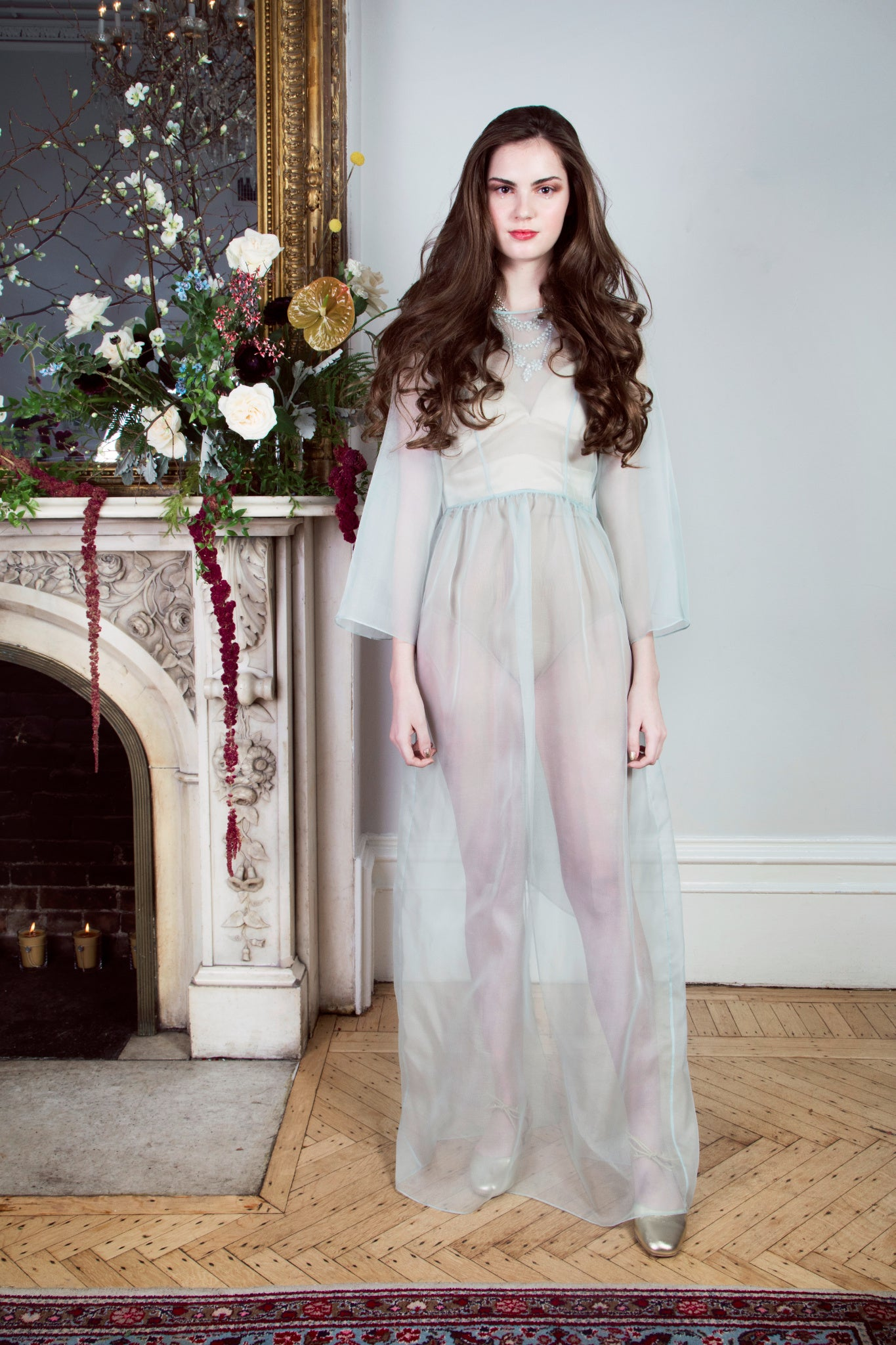 Abigail Sheer Gown