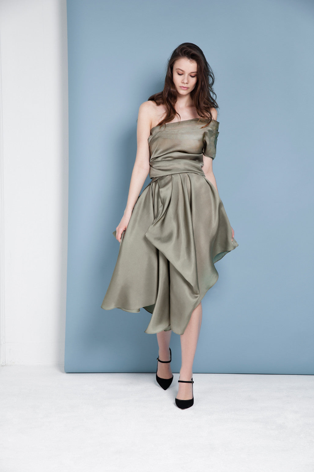 Damansara Draped Skirt