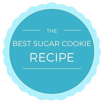 The Best Sugar Cookie Recipe of all Time - Seriously!