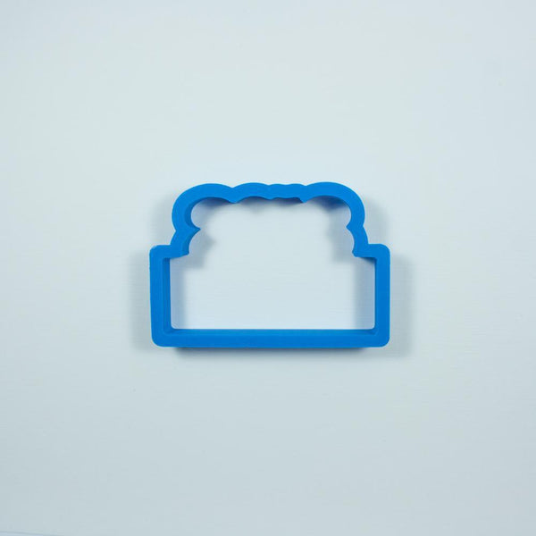 Frosted Cookie Cutter 2018 Cookie Cutter Plaque Cookie Cutter