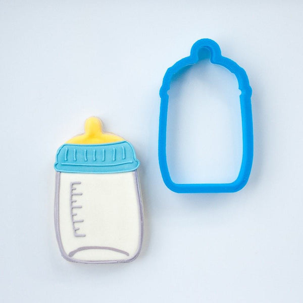 Frosted Cookie Cutter Baby Bottle Cookie Cutter