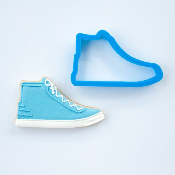 Frosted Cookie Cutter Basketball Shoe Cookie Cutter