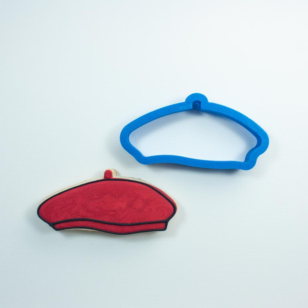 Frosted Cookie Cutter Beret Cookie Cutter