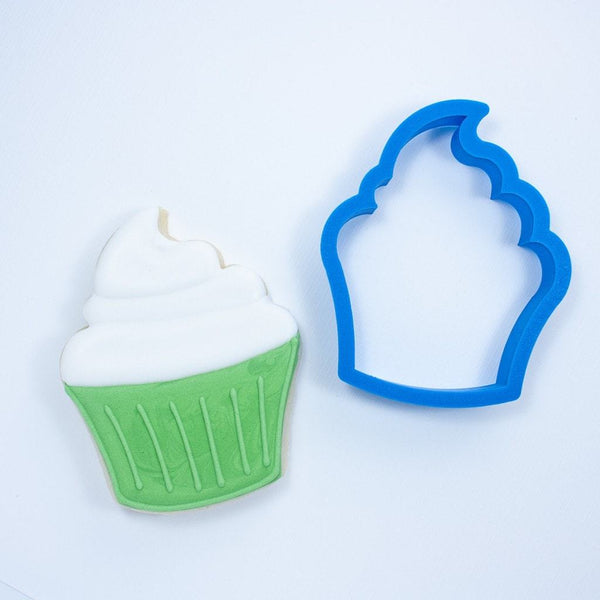 Frosted Cookie Cutter Cupcake Cookie Cutter