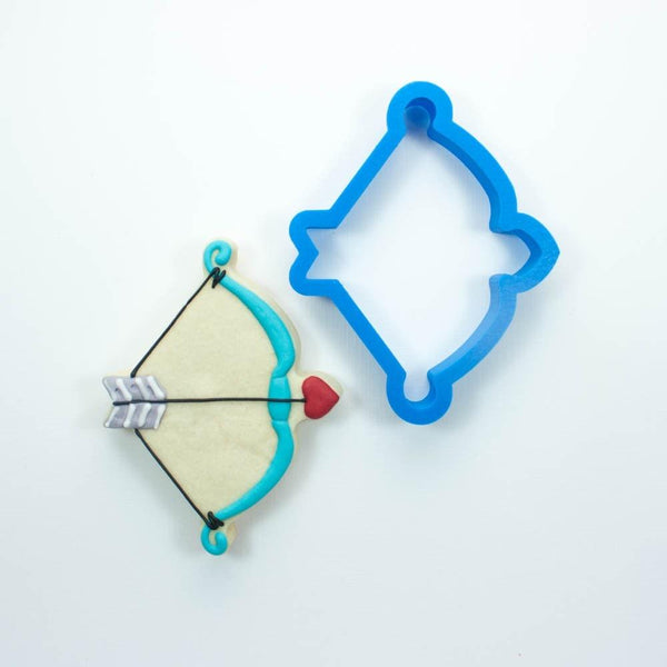 Frosted Cookie Cutter Cupid's Bow Cookie Cutter