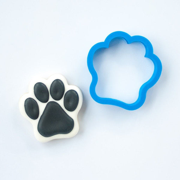 Frosted Cookie Cutter Dog Paw Cookie Cutter