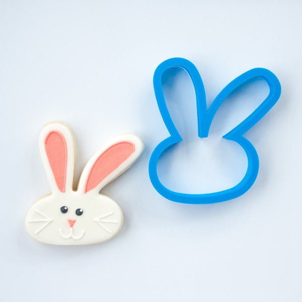 Frosted Cookie Cutter Easter Bunny Ears Cookie Cutter