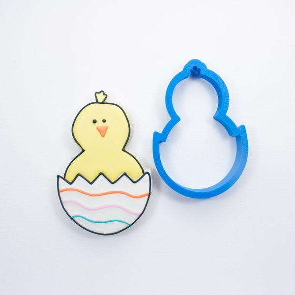Frosted Cookie Cutter Easter Chick Cookie Cutter