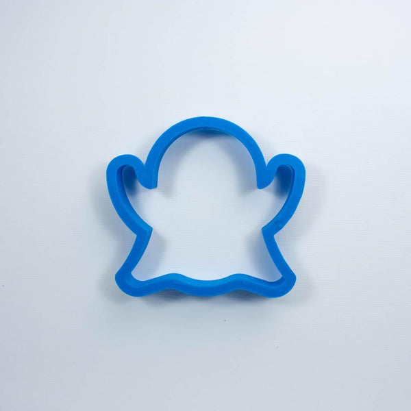 Frosted Cookie Cutter Ghost Emoji Cookie Cutter