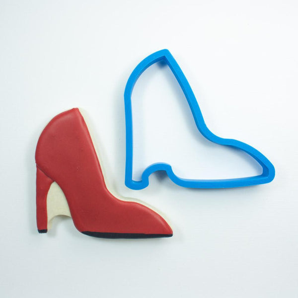 Frosted Cookie Cutter High Heel Cookie Cutter