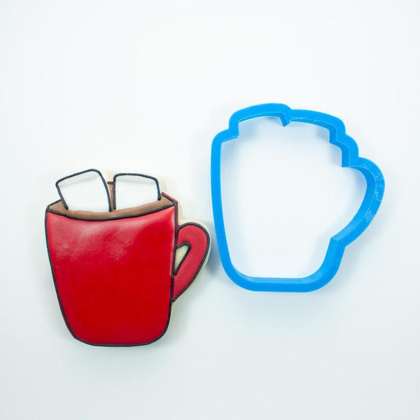 Frosted Cookie Cutter Hot Chocolate Cookie Cutter