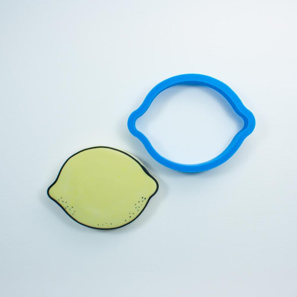 Frosted Cookie Cutter Lemon Cookie Cutter