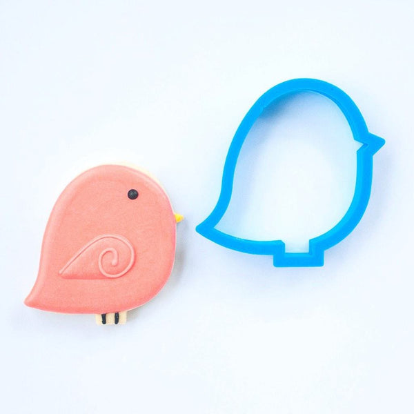 Frosted Cookie Cutter Love Bird Cookie Cutter