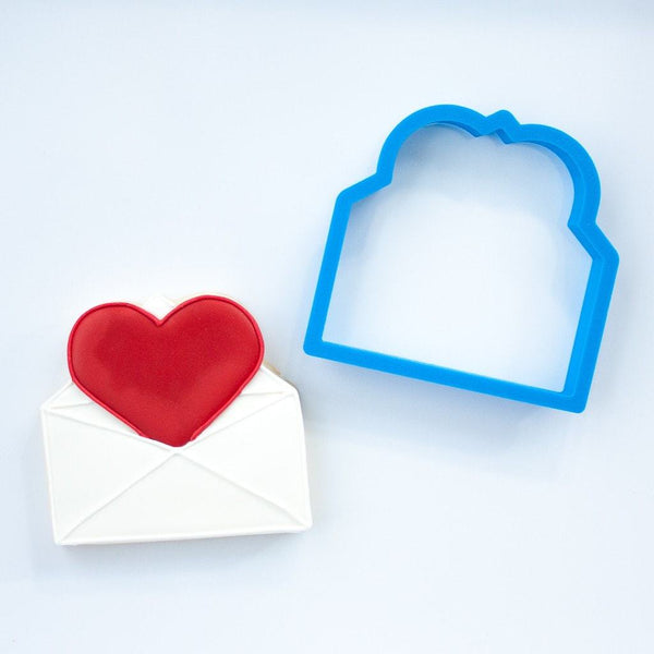 Frosted Cookie Cutter Love Letter Cookie Cutter