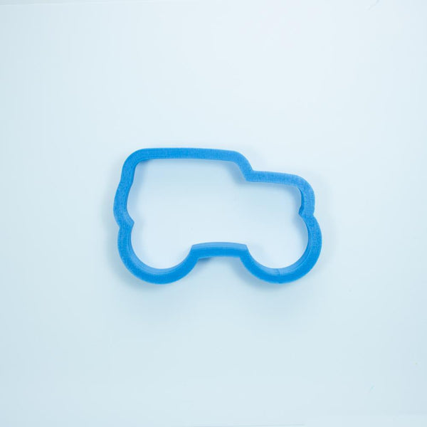 Frosted Cookie Cutter Monster Truck Cookie Cutter