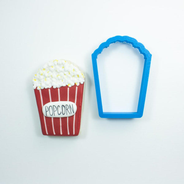Frosted Cookie Cutter Popcorn Cookie Cutter